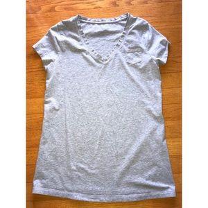 Gray maternity shirt